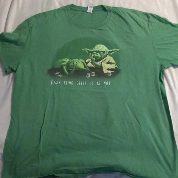 Yoda Kermit T-shirt